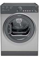Hotpoint Aquarius TVFS83CGG9 Graphite 8kg Vented Tumble Dryer