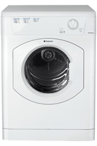 Hotpoint TVHM80CP White 8kg Vented Tumble Dryer