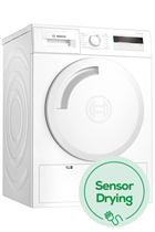 Bosch Serie 4 WTH84000GB White 8kg Heat Pump Tumble Dryer