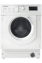 Hotpoint BIWDHG75148UKN Integrated White 7kg/5kg 1400 Spin Washer Dryer