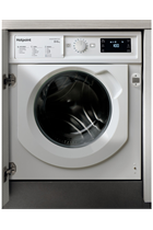 Hotpoint BIWDHG861484 Integrated White 8kg/6kg 1400 Spin Washer Dryer