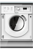 Hotpoint WDHL7128UK White Built-In 1200RPM Washer Dryer
