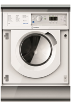 Indesit BIWDIL7125 Integrated White 7kg/5kg 1200 Spin Washer Dryer