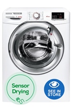 Hoover H3D4965DCE White 9kg/6kg 1400 Spin Washer Dryer