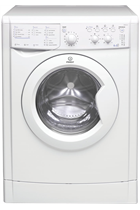 Indesit Eco Time IWDC6125 White 6kg/5kg 1200 Spin Washer Dryer