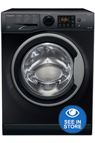 Hotpoint RDG9643KSUKN Black 9kg/6kg 1400 Spin Washer Dryer