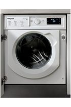 Hotpoint BIWMHG81484 Integrated White 8kg 1400 Spin Washing Machine