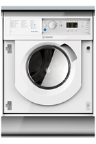 Indesit BIWMIL71452 Integrated White 7kg 1400 Spin Washing Machine