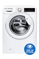 Hoover H3W58TE White 8kg 1500 Spin Washing Machine