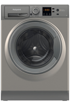Hotpoint NSWF742UGGUKN Graphite 7kg 1400 Spin Washing Machine