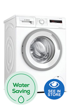 Bosch Serie 4 WAN28081GB White 7kg 1400 Spin Washing Machine