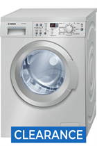 Bosch WAQ2836SGB 8kg 1400 Spin Silver Washing Machine