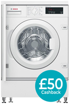 Bosch WIW28300GB Built-In 8KG Washing Machine