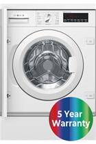 Bosch Serie 8 WIW28500GB Integrated White 8kg 1400 Spin Washing Machine