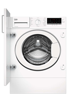 Beko WTIK74151F Integrated White 7kg 1400 Spin Washing Machine