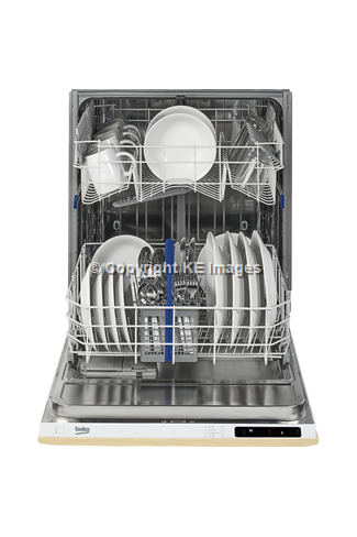 Beko DIN14C10 12 Place Settings Integrated Dishwasher