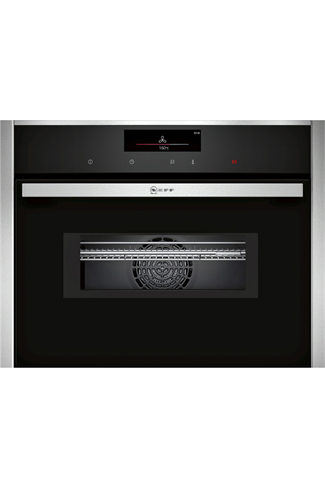 NEFF N90 C28MT27H0B Stainless Steel Built-In Combination Oven with HomeConnect