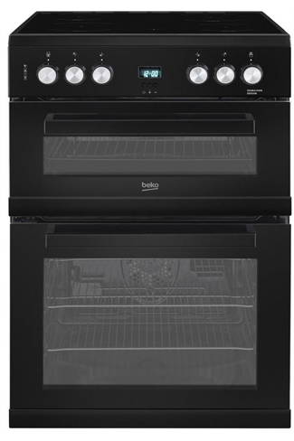 Beko EDC663K Ceramic Double Oven