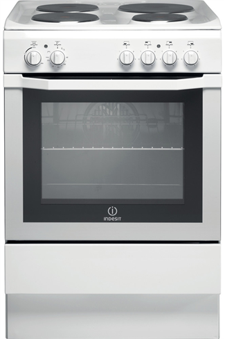 Indesit I6EVAW 60cm White Single Cavity Electric Cooker