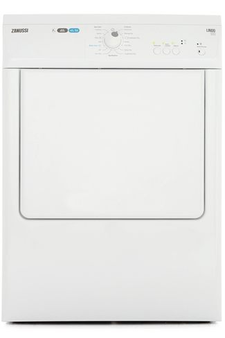 Zanussi ZTE7101PZ White 7kg Vented Tumble Dryer