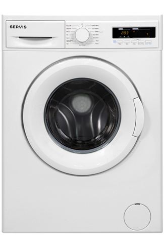 Servis LW840W 8KG White Washing Machine