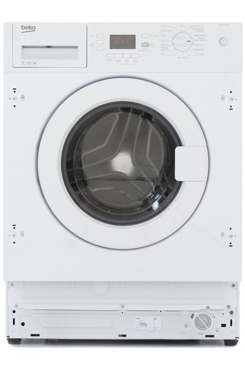 beko integrated washing machine 7kg washing machine from. Black Bedroom Furniture Sets. Home Design Ideas
