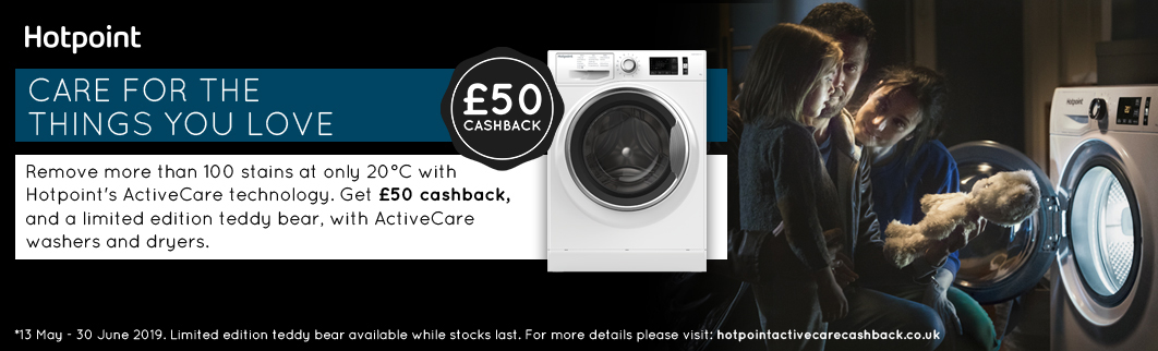 Hotpoint ActiveCare Cashback
