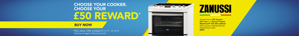 Choose Your Gift with Zanussi!