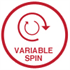 Variable Spin